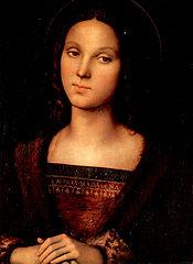 Pietro Perugino's Mary Magdalene, c. 1500.