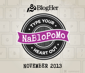 NaBloPoMo 2014 Badge