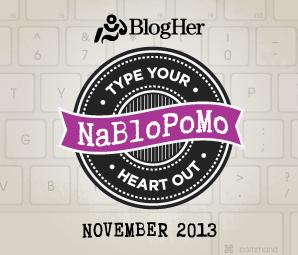 NaBloPoMo 2014 Badge